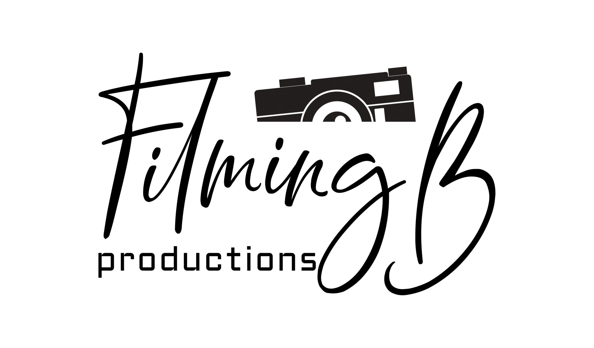 Filming B Production logo design