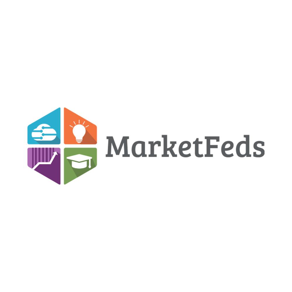 Marketfeds logo design